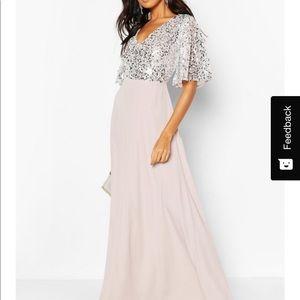 Boohoo Bridesmaid Dress